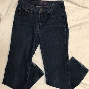 NYDJ Not Your Daughters Jeans Slim Size 4 P